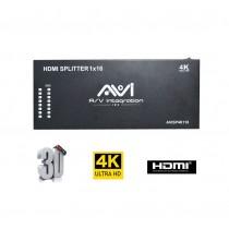AVI HDMI Splitter 1x16 4K 3D V1.4
