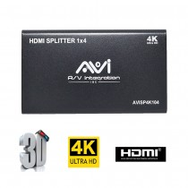 AVI HDMI Splitter 1x4 4K 3D V1.4