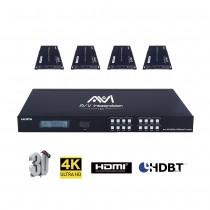 AVI HDBaseT HDMI 4x4 Matrix 4K