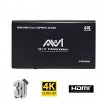 AVI HDMI Switcher 5x1 4K 3D V1.4